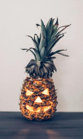 DIY citrouille ananas