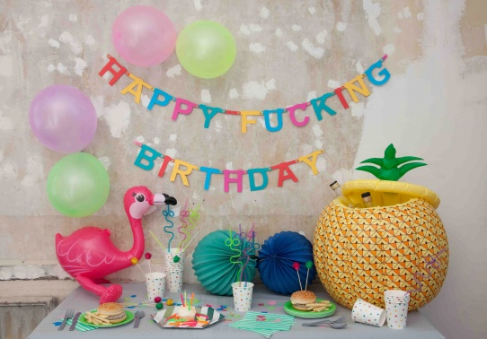 Happy fucking birthday - CRAZY